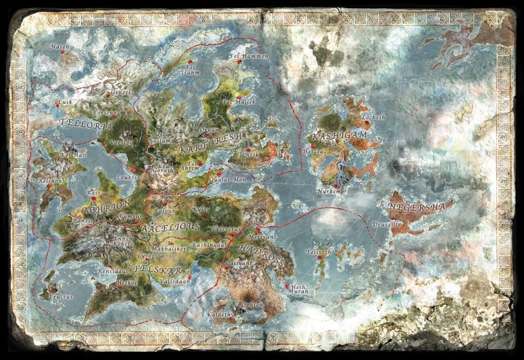 WOK-map